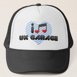 I Love Uk Garage Trucker Hat