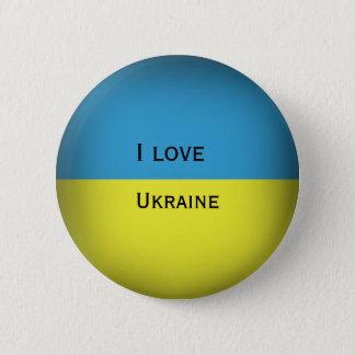 I love Ukraine 2 Inch Round Button
