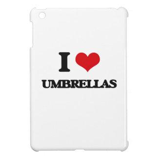 I love Umbrellas iPad Mini Cases
