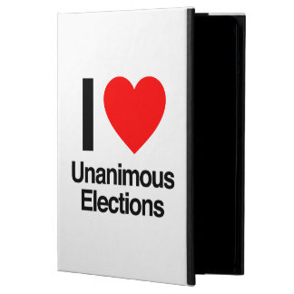 i love unanimous elections cover for iPad air