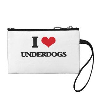 I love Underdogs Change Purse