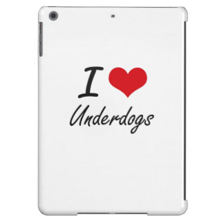 I love Underdogs iPad Air Cases