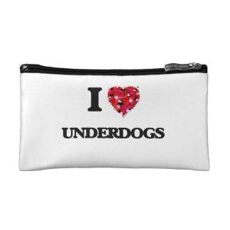 I love Underdogs Makeup Bag