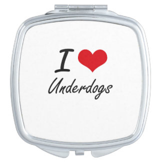 I love Underdogs Makeup Mirrors