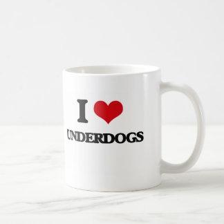 I love Underdogs Basic White Mug