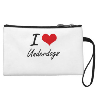 I love Underdogs Wristlet Purses