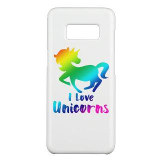 I Love Unicorns Rainbow Design Case-Mate Samsung Galaxy S8 Case