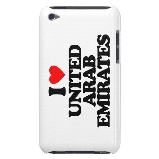 I LOVE UNITED ARAB EMIRATES Case-Mate iPod TOUCH CASE