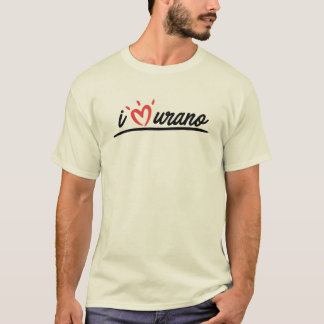 i love Uranus chest T-Shirt