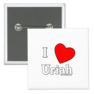 I Love Uriah Buttons