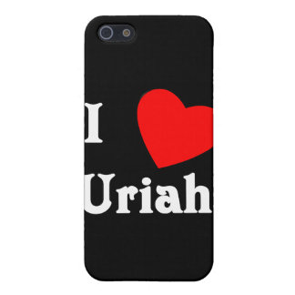 I Love Uriah Covers For iPhone 5