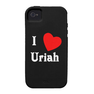 I Love Uriah iPhone 4/4S Cover