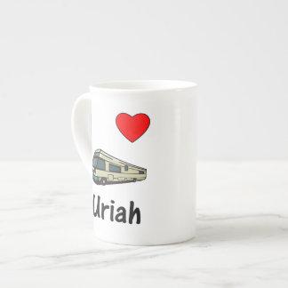 I Love Uriah (pic) Bone China Mugs