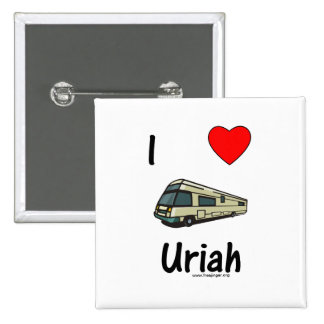 I Love Uriah pic Button