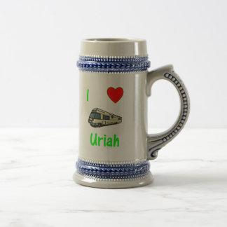 I Love Uriah (pic) Coffee Mug