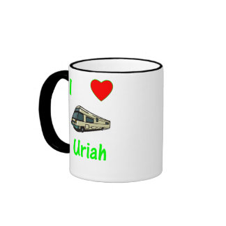 I Love Uriah (pic) Coffee Mugs