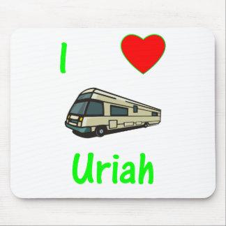 I Love Uriah (pic) Mouse Pad