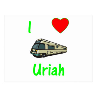 I Love Uriah (pic) Post Cards