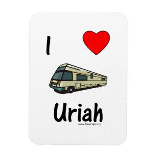 I Love Uriah (pic) Vinyl Magnet