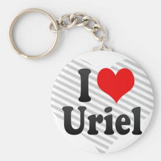 I love Uriel Keychain