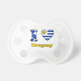 I love Uruguay Baby Pacifier