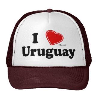 I Love Uruguay Trucker Hats