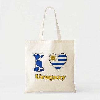 I love Uruguay Tote Bag