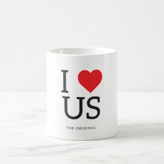 I Love US (United States) | I Heart US Mug