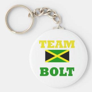 I love usain bolt - keychain -