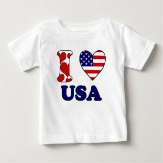 I love USAS Baby T-Shirt
