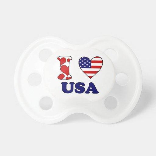 I love USAS Baby Pacifiers