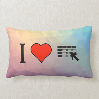 I Love Using Spreadsheets Pillows