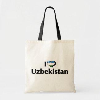I Love Uzbekistan Flag