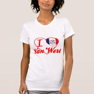 I Love Van Wert, Iowa T Shirts