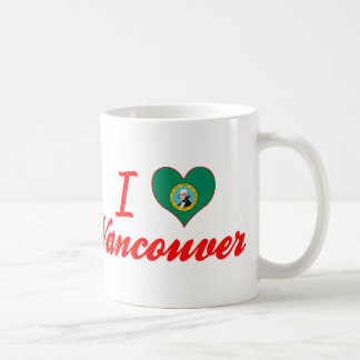 I Love Vancouver, Washington Coffee Mug