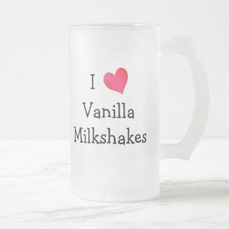I Love Vanilla Milkshakes Mugs