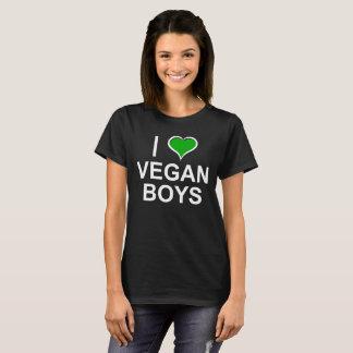 I LOVE VEGAN BOYS T-Shirt