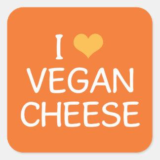I Love Vegan Cheese Sticker