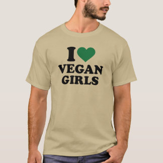 I love vegan girls T-Shirt