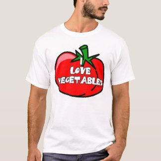 I Love Vegetables T-Shirt