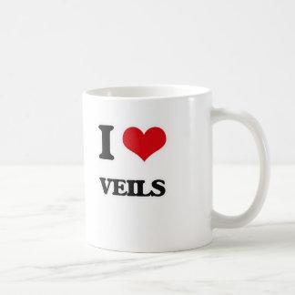 I Love Veils Coffee Mug