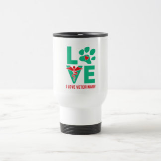 I love Veterinary Travel Mug