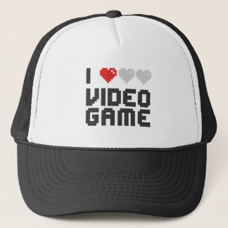 I Love Video Game Trucker Hat