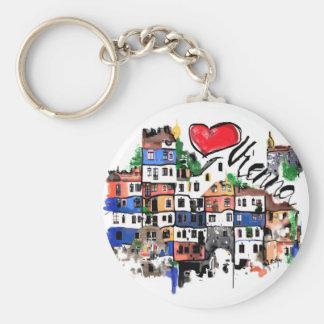 I love Vienna Keychain