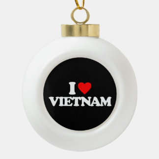 I LOVE VIETNAM ORNAMENT
