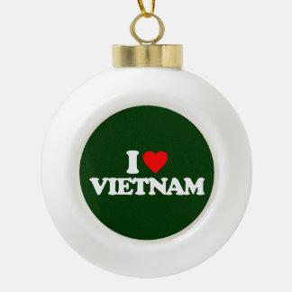 I LOVE VIETNAM ORNAMENTS
