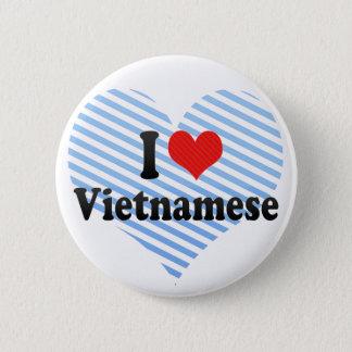 I Love Vietnamese 2 Inch Round Button