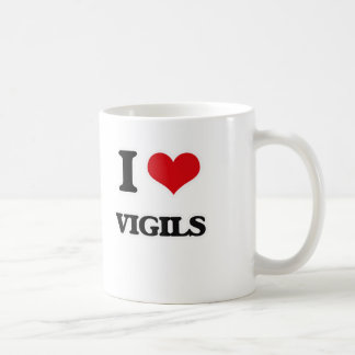 I Love Vigils Coffee Mug