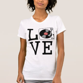 i love vinyl record players T-Shirt