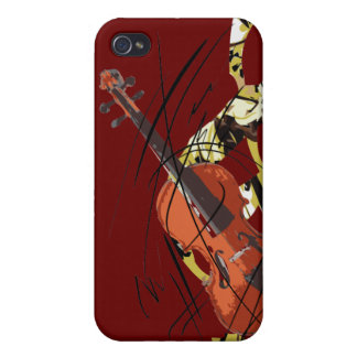 I Love Violin iPhone 4/4S Cover